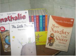 Belanja buku tahap 1, hadiah dari Kanada